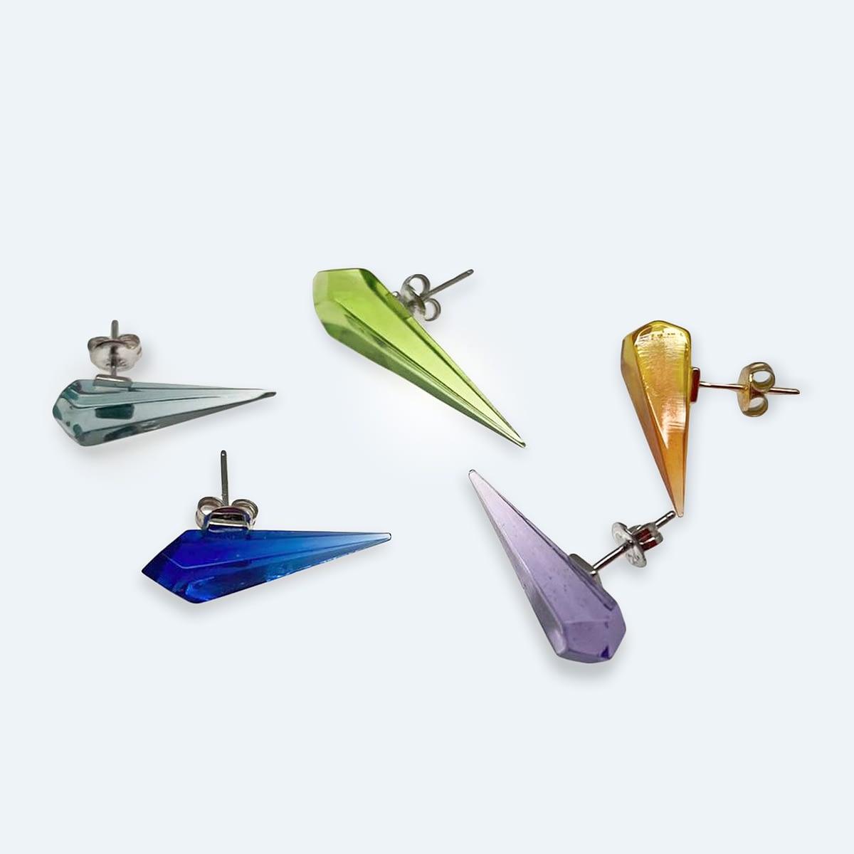 Agustina Ros Earrings Diamonds