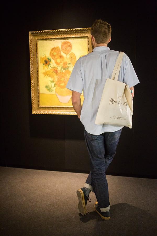 Bolsa de tela Van Gogh