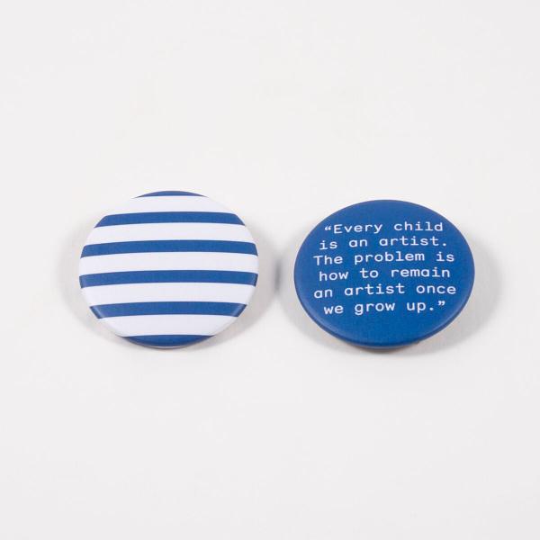 Pablo Picasso badges