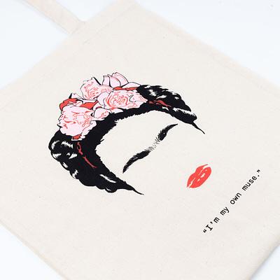 bolsa de algodon Frida Kahlo