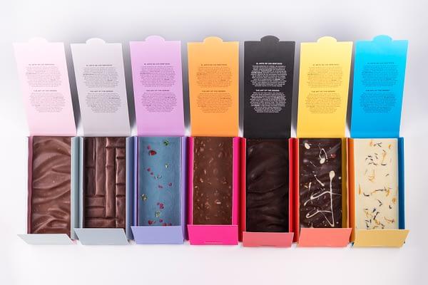 Colección chocolate SINESTESIART Xocala