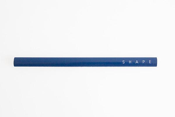 Lápiz diseño azul