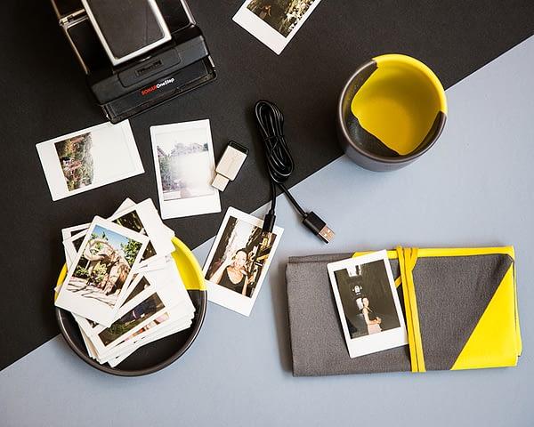 Colección artesanal Raw amarillo y gris