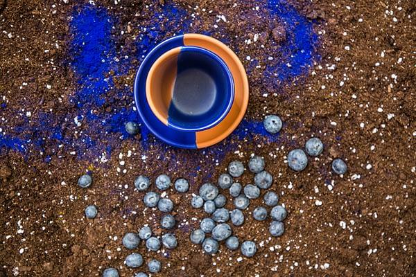 taza cerámica artesanal