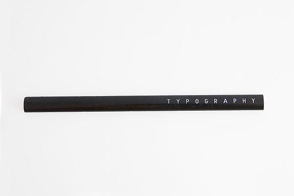 lápiz diseño negro