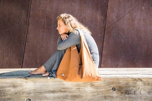 Raw bag brown